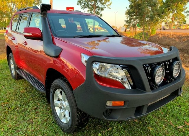 Used Toyota Landcruiser Prado GDJ150R GXL, 2015 Toyota Landcruiser Prado GDJ150R GXL Red 6 Speed Sports Automatic Wagon