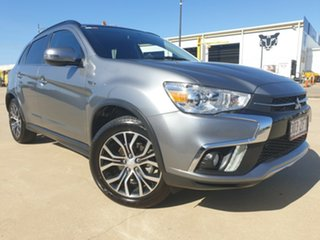 2018 Mitsubishi ASX XC MY18 LS 2WD Grey 6 Speed Constant Variable Wagon.