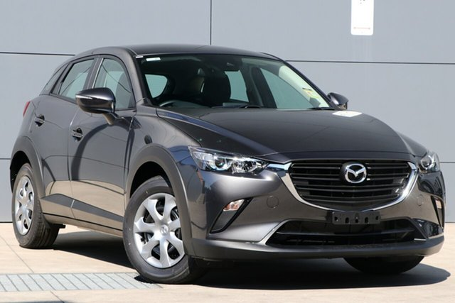 New Mazda CX-3 DK2W7A Neo SKYACTIV-Drive FWD Sport, 2019 Mazda CX-3 DK2W7A Neo SKYACTIV-Drive FWD Sport Machine Grey 6 Speed Sports Automatic Wagon