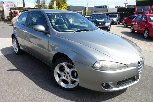 Used Alfa Romeo 147 MY2005 Twin Spark, 2006 Alfa Romeo 147 MY2005 Twin Spark Charcoal Grey 5 Speed Manual Hatchback