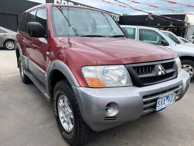 Used Mitsubishi Pajero NP MY03 GLS, 2003 Mitsubishi Pajero NP MY03 GLS Red 5 Speed Sports Automatic Wagon