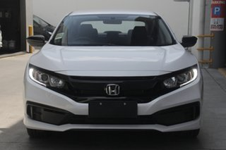 2019 Honda Civic 10th Gen MY19 50 Years Edition Platinum White 1 Speed Constant Variable Sedan
