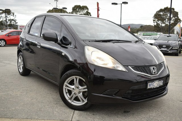 Used Honda Jazz GE MY09 VTi, 2008 Honda Jazz GE MY09 VTi Black/Grey 5 Speed Automatic Hatchback