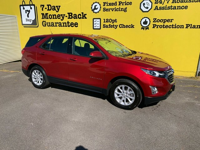Used Holden Equinox EQ MY18 LS FWD, 2018 Holden Equinox EQ MY18 LS FWD Glory Red 6 Speed Sports Automatic Wagon