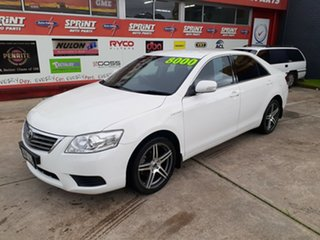 2010 Toyota Aurion GSV40R MY10 AT-X White 6 Speed Sports Automatic Sedan.