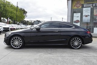 2016 Mercedes-Benz C-Class C205 C300 7G-Tronic + Black 7 Speed Sports Automatic Coupe