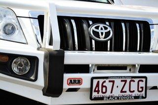 2011 Toyota Landcruiser Prado KDJ150R 11 Upgrade GXL (4x4) Glacier White 5 Speed Sequential Auto.