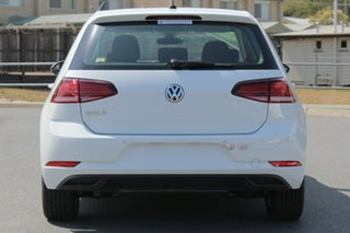 2018 Volkswagen Golf 7.5 MY19 110TSI Trendline Pure White 6 Speed Manual Hatchback