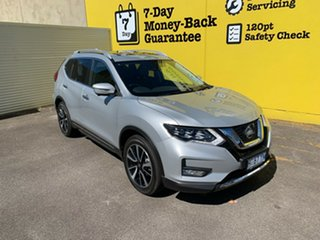 2018 Nissan X-Trail T32 Series II Ti X-tronic 4WD Brilliant Silver 7 Speed Constant Variable Wagon.