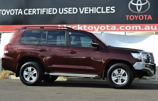 2016 Toyota Landcruiser VDJ200R MY16 GXL (4x4) Copper Brown 6 Speed Automatic Wagon.