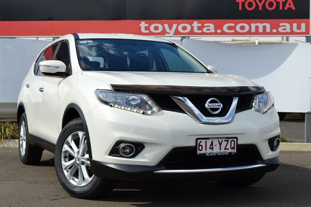 Used Nissan X-Trail T32 ST (FWD), 2015 Nissan X-Trail T32 ST (FWD) Pearl White Continuous Variable Wagon