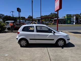 2003 Hyundai Getz TB GL White 5 Speed Manual Hatchback