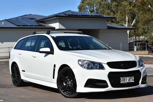 Used Holden Commodore VF MY14 SS Sportwagon, 2013 Holden Commodore VF MY14 SS Sportwagon White 6 Speed Sports Automatic Wagon