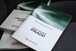 2011 Toyota Landcruiser Prado KDJ150R 11 Upgrade GXL (4x4) Glacier White 5 Speed Sequential Auto