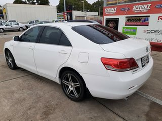 2010 Toyota Aurion GSV40R MY10 AT-X White 6 Speed Sports Automatic Sedan