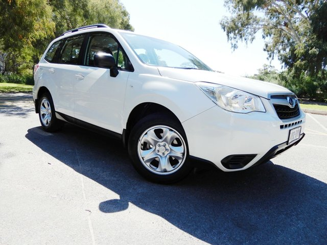 Used Subaru Forester S4 MY14 2.5i Lineartronic AWD, 2014 Subaru Forester S4 MY14 2.5i Lineartronic AWD White 6 Speed Constant Variable Wagon