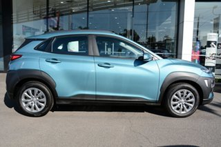 2020 Hyundai Kona OS.3 MY20 Go D-CT AWD Ceramic Blue 7 Speed Sports Automatic Dual Clutch Wagon