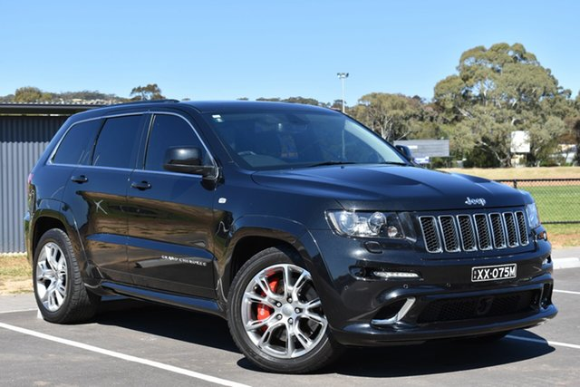 Used Jeep Grand Cherokee WK MY2012 SRT-8, 2012 Jeep Grand Cherokee WK MY2012 SRT-8 Black 5 Speed Sports Automatic Wagon