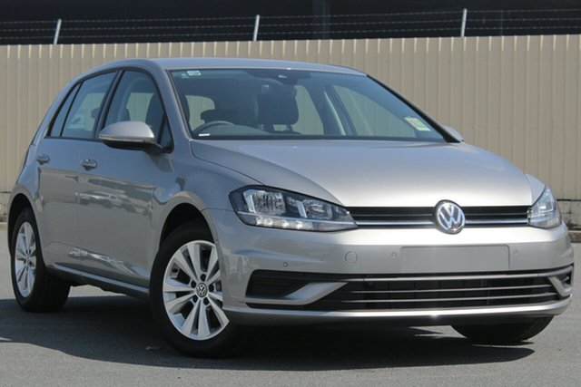 Demo Volkswagen Golf 7.5 MY19 110TSI Trendline, 2018 Volkswagen Golf 7.5 MY19 110TSI Trendline Tungsten Silver 6 Speed Manual Hatchback