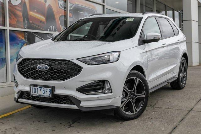 Demo Ford Endura CA 2019MY ST-Line SelectShift AWD, 2018 Ford Endura CA 2019MY ST-Line SelectShift AWD White 8 Speed Sports Automatic Wagon
