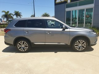 2016 Mitsubishi Outlander ZK MY16 LS 2WD Grey 6 Speed Constant Variable Wagon.