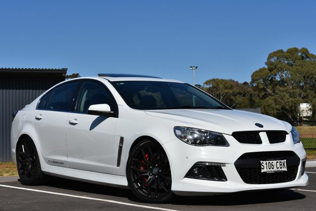 Used Holden Special Vehicles ClubSport Gen-F MY14 R8, 2014 Holden Special Vehicles ClubSport Gen-F MY14 R8 White 6 Speed Sports Automatic Sedan
