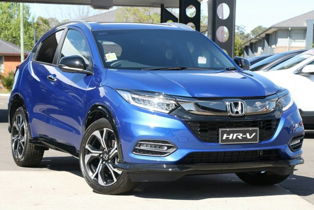 New Honda HR-V MY21 RS Newstead, 2020 Honda HR-V MY21 RS Blue 1 Speed Constant Variable Hatchback