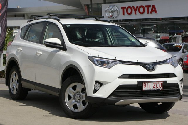 Demo Toyota RAV4 ASA44R GX AWD, 2018 Toyota RAV4 ASA44R GX AWD Glacier White 6 Speed Sports Automatic Wagon