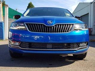 2018 Skoda Rapid NH MY19 Spaceback DSG Blue 7 Speed Sports Automatic Dual Clutch Hatchback