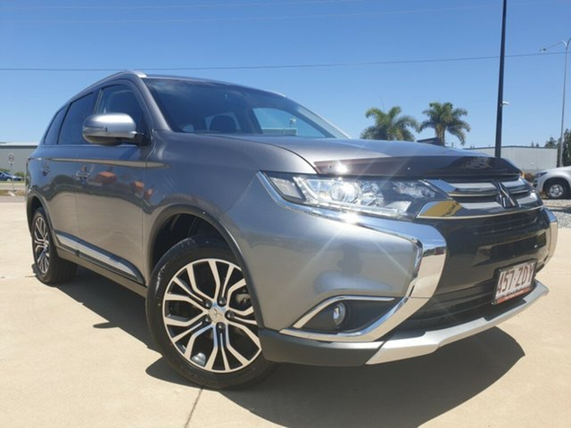 Used Mitsubishi Outlander ZK MY16 LS 2WD, 2016 Mitsubishi Outlander ZK MY16 LS 2WD Grey 6 Speed Constant Variable Wagon