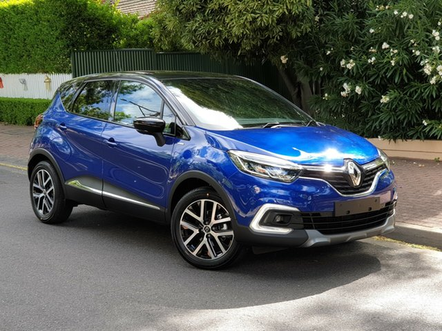 Demo Renault Captur J87 S-Edition EDC, 2018 Renault Captur J87 S-Edition EDC Iron Blue & Diamond Black 6 Speed Sports Automatic Dual Clutch