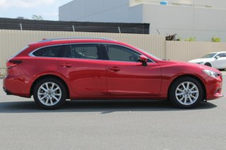 2012 Mazda 6 GJ1021 Touring SKYACTIV-Drive Soul Red 6 Speed Sports Automatic Wagon.