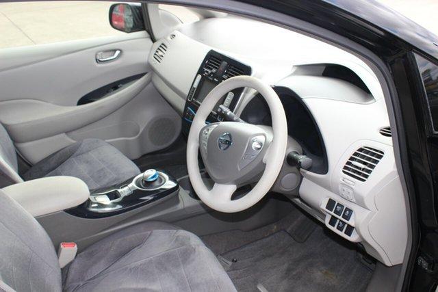 Used Nissan Leaf ZE0 , 2012 Nissan Leaf ZE0 Black 1 Speed Reduction Gear Hatchback