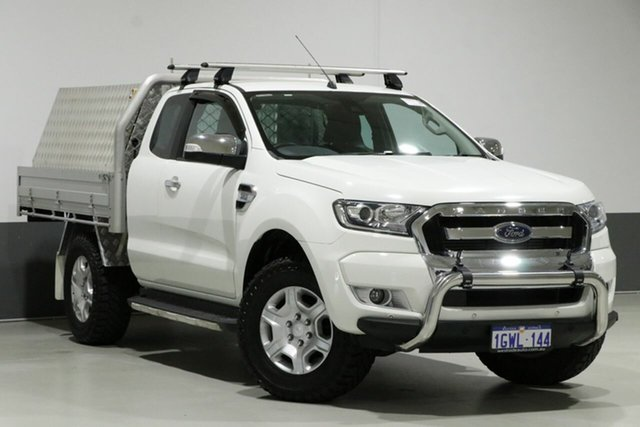 Used Ford Ranger PX MkII MY17 Update XLT 3.2 (4x4), 2017 Ford Ranger PX MkII MY17 Update XLT 3.2 (4x4) White 6 Speed Manual Super Cab Utility