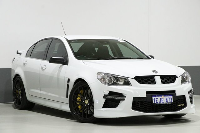 Used Holden Special Vehicles GTS Gen F , 2013 Holden Special Vehicles GTS Gen F White 6 Speed Auto Active Sequential Sedan