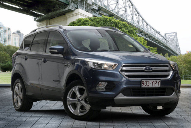 Used Ford Escape ZG 2019.25MY Trend 2WD, 2019 Ford Escape ZG 2019.25MY Trend 2WD Blue Metallic 6 Speed Sports Automatic Wagon