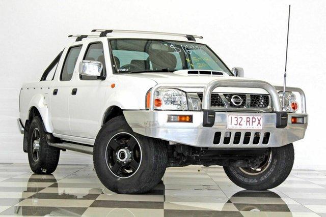 Used Nissan Navara D22 MY08 ST-R (4x4), 2011 Nissan Navara D22 MY08 ST-R (4x4) White 5 Speed Manual Dual Cab Pick-up