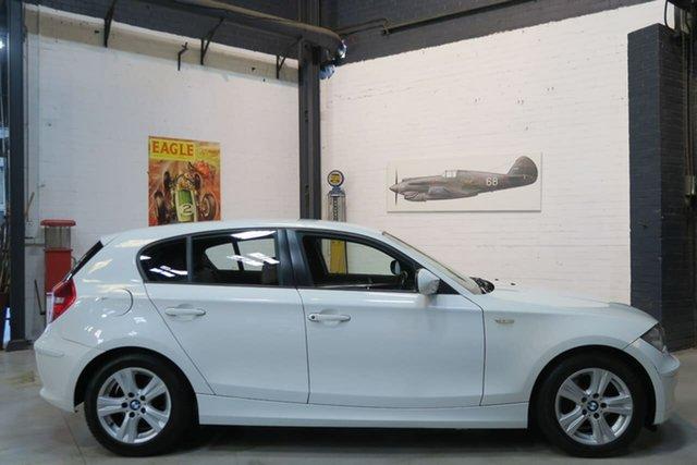 Used BMW 118i E87 MY11 118i, 2011 BMW 118i E87 MY11 118i White 6 Speed Automatic Hatchback