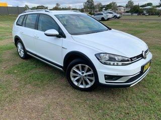 2017 Volkswagen Golf AU MY17 Alltrack 132 TSI White 6 Speed Direct Shift Wagon.