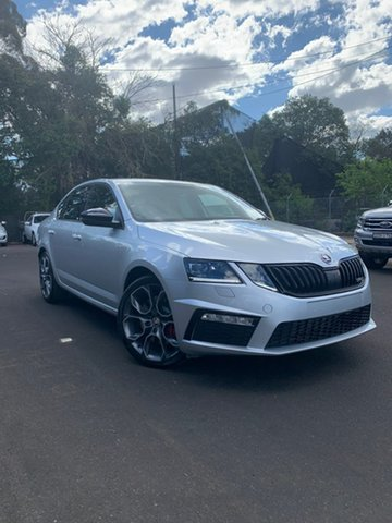 New Skoda Octavia NE MY19 RS Sedan DSG 180TSI, 2019 Skoda Octavia NE MY19 RS Sedan DSG 180TSI Silver 7 Speed Sports Automatic Dual Clutch Liftback