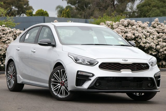 New Kia Cerato BD MY19 GT DCT, 2019 Kia Cerato BD MY19 GT DCT Silky Silver 7 Speed Sports Automatic Dual Clutch Sedan