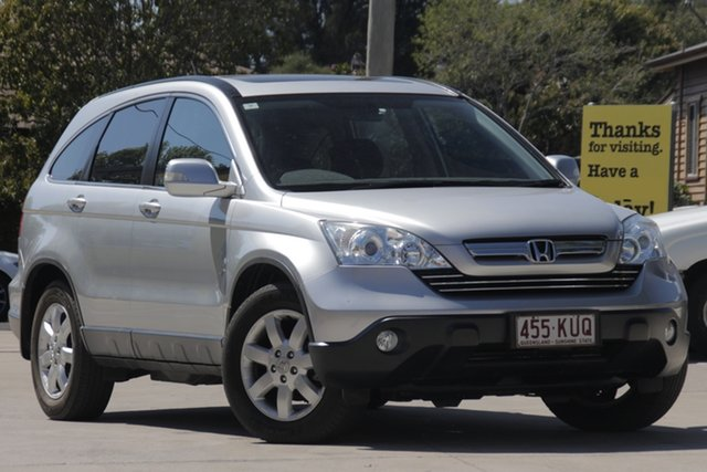 Used Honda CR-V RE MY2007 Luxury 4WD, 2007 Honda CR-V RE MY2007 Luxury 4WD Silver 5 Speed Automatic Wagon