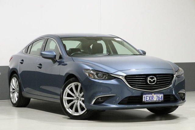 Used Mazda 6 6C MY15 Touring, 2015 Mazda 6 6C MY15 Touring Blue 6 Speed Automatic Sedan