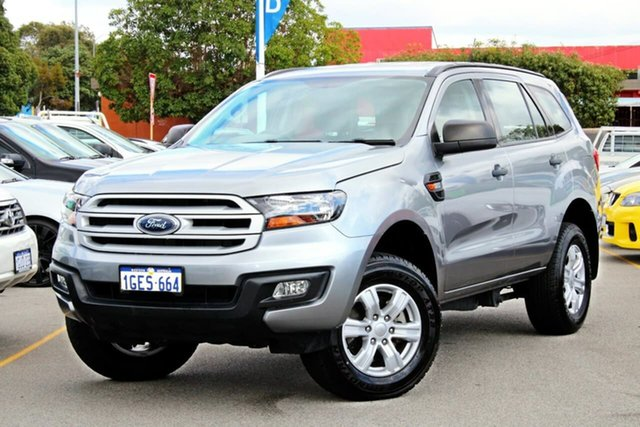 Used Ford Everest UA Ambiente 4WD, 2016 Ford Everest UA Ambiente 4WD Silver 6 Speed Sports Automatic Wagon