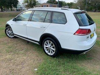 2017 Volkswagen Golf AU MY17 Alltrack 132 TSI White 6 Speed Direct Shift Wagon