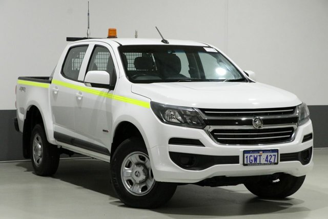 Used Holden Colorado RG MY17 LS (4x4), 2017 Holden Colorado RG MY17 LS (4x4) White 6 Speed Automatic Crew Cab Pickup