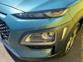2017 Hyundai Kona OS MY18 Highlander 2WD Blue 6 Speed Sports Automatic Wagon