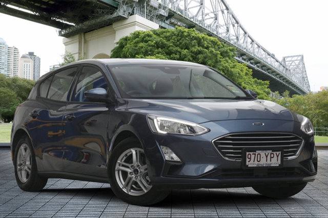 Used Ford Focus SA 2019.25MY Trend, 2019 Ford Focus SA 2019.25MY Trend Blue Metallic 8 Speed Automatic Hatchback