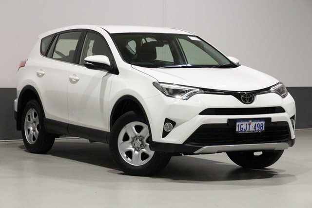 Used Toyota RAV4 ZSA42R MY18 GX (2WD), 2017 Toyota RAV4 ZSA42R MY18 GX (2WD) White Continuous Variable Wagon