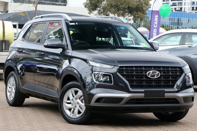 New Hyundai Venue QX MY20 Active, 2019 Hyundai Venue QX MY20 Active Cosmic Grey 6 Speed Automatic Wagon